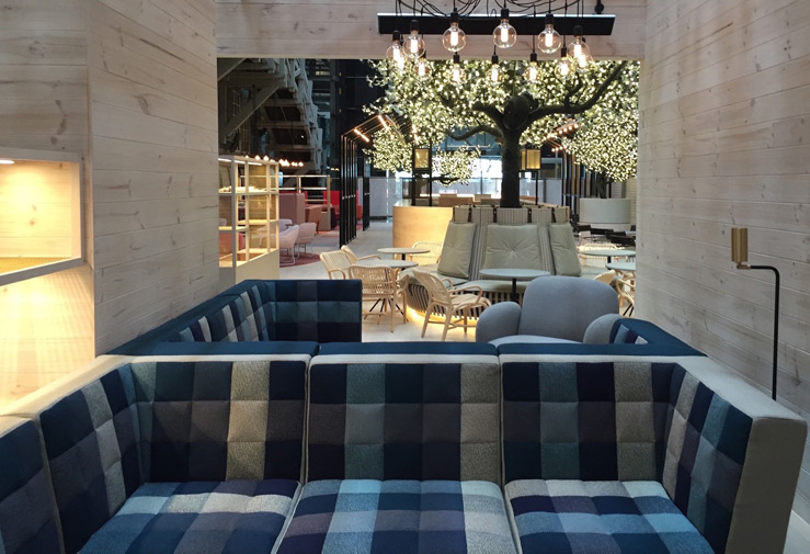 Polder and Bolster from De Ploeg used in Ovolo Hotel in Wooloomooloo.