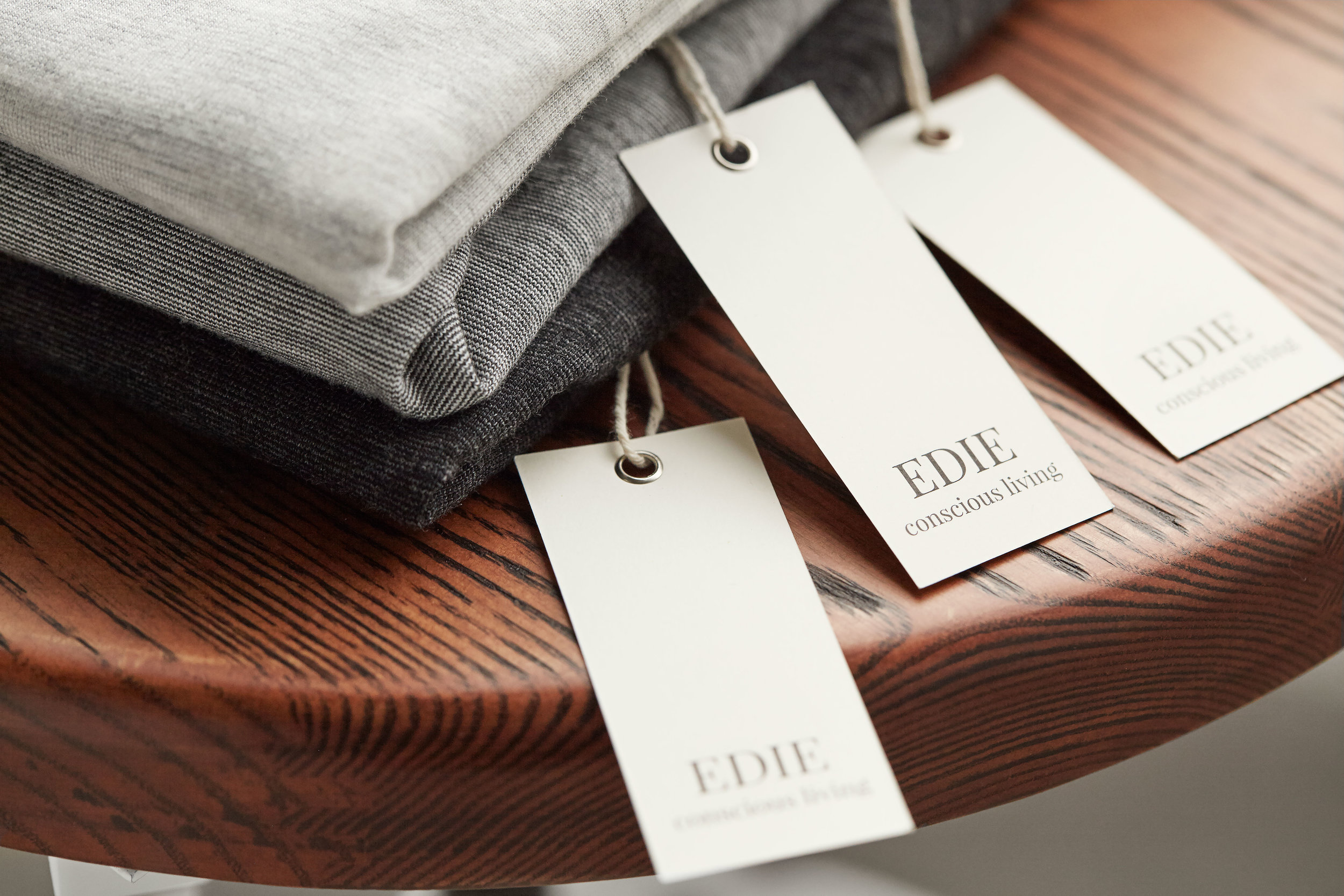 ethically manufactured  - Our philosophy has always been to prioritize the integrity of our work over the bottom line. For our signature Edie collection, we proudly work with American manufacturers and makers to ensure that all workers who make our products are treated with dignity in the workplace.
