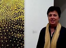 BRIC curator Elizabeth Ferrer discussing Mystics show