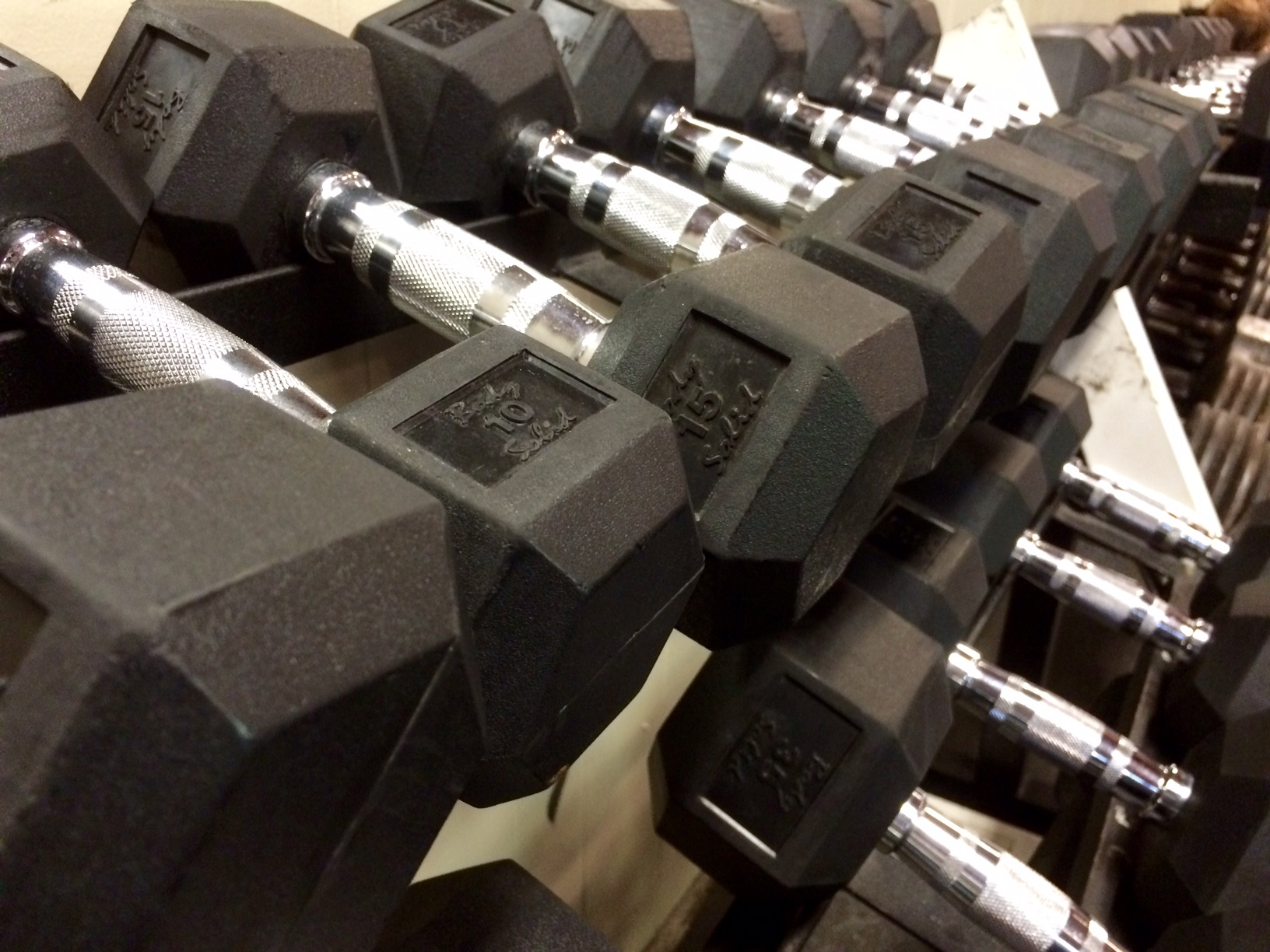 New Rubber Dumbbells Updated in 2016