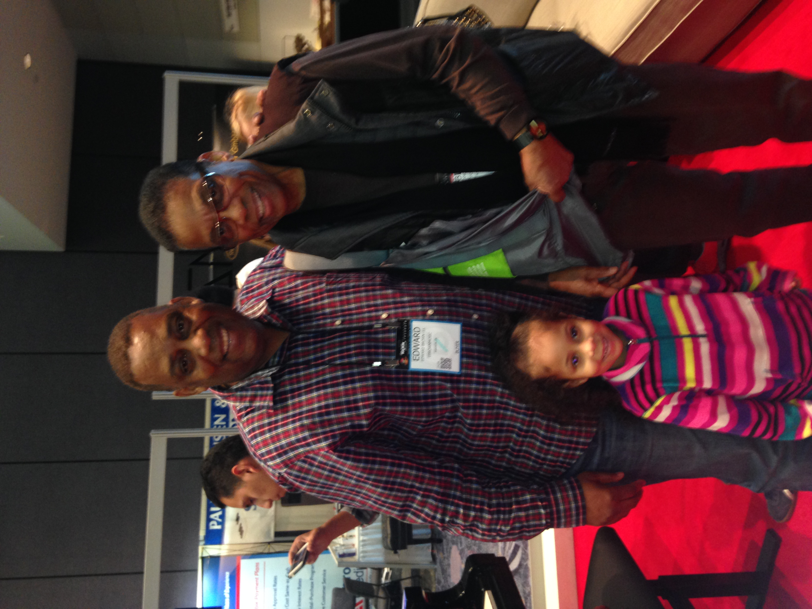 With Herbie Hancock at NAMM
