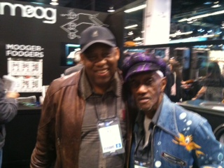 Hang-time with Bernie Worrell
