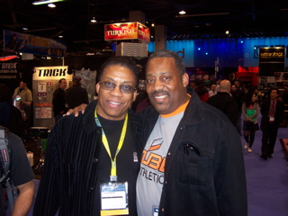 Hang-time with Herbie Hancock at NAMM