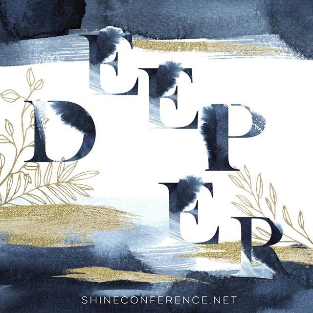 """""""I am healed in the river // Made alive again // Take me deeper"""" #deeper #shineconf18 #takemedeeper #iamhealed #iamworthy #iamfree"""
