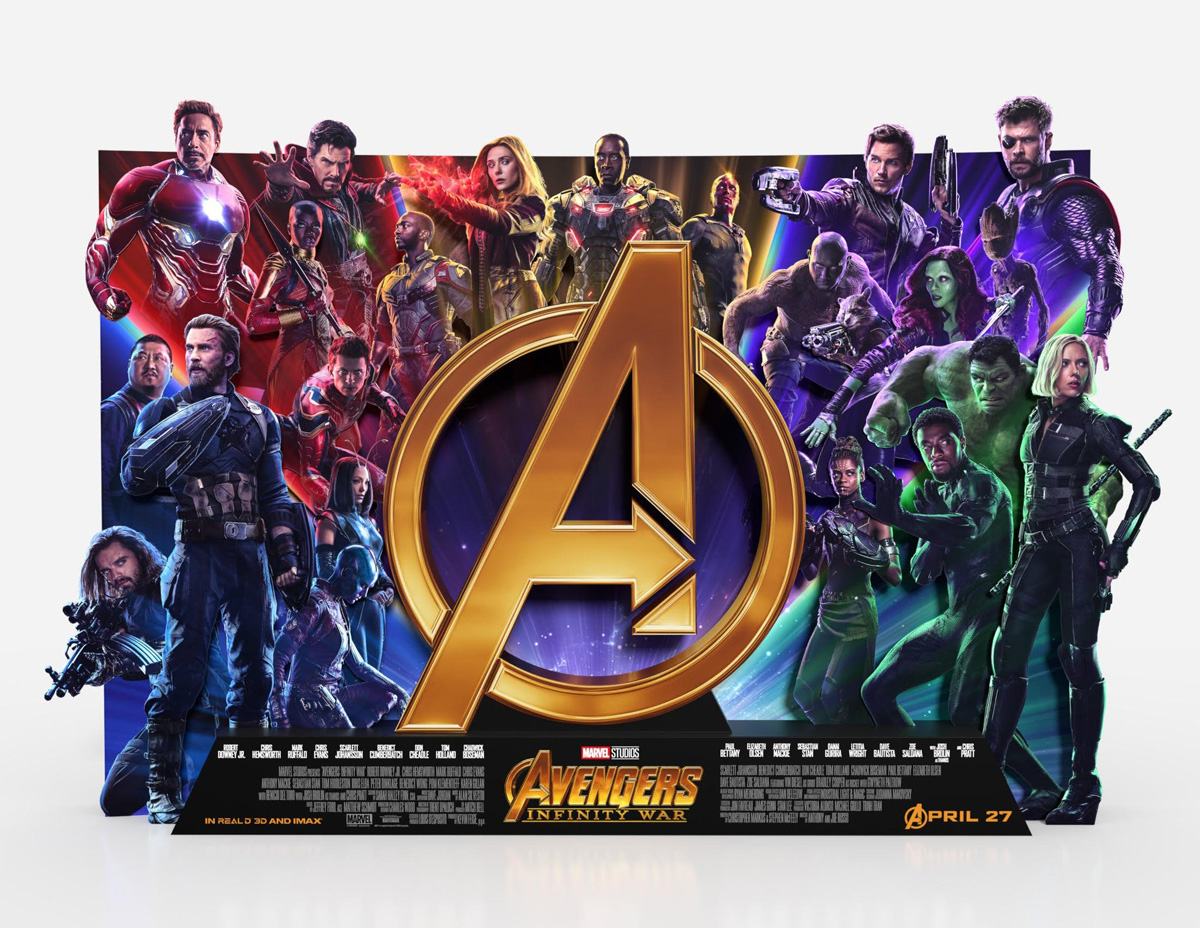Avengers Infinity War Review by LA Jamison