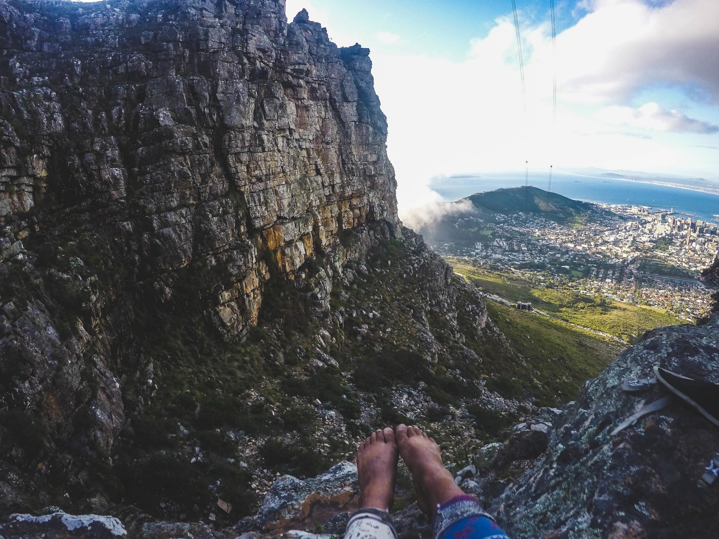 Proper hiking shoes