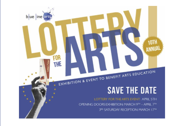 "March 2018 ""Lottery for the Arts"" Art Show Roseville, California"