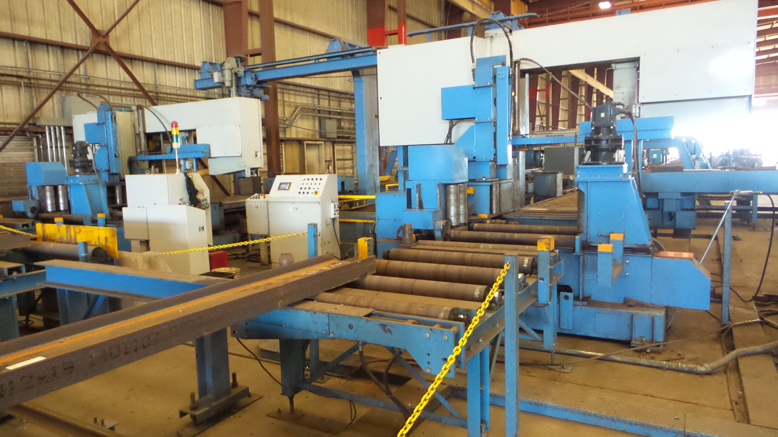USED CNC Structural Steel Band Saw