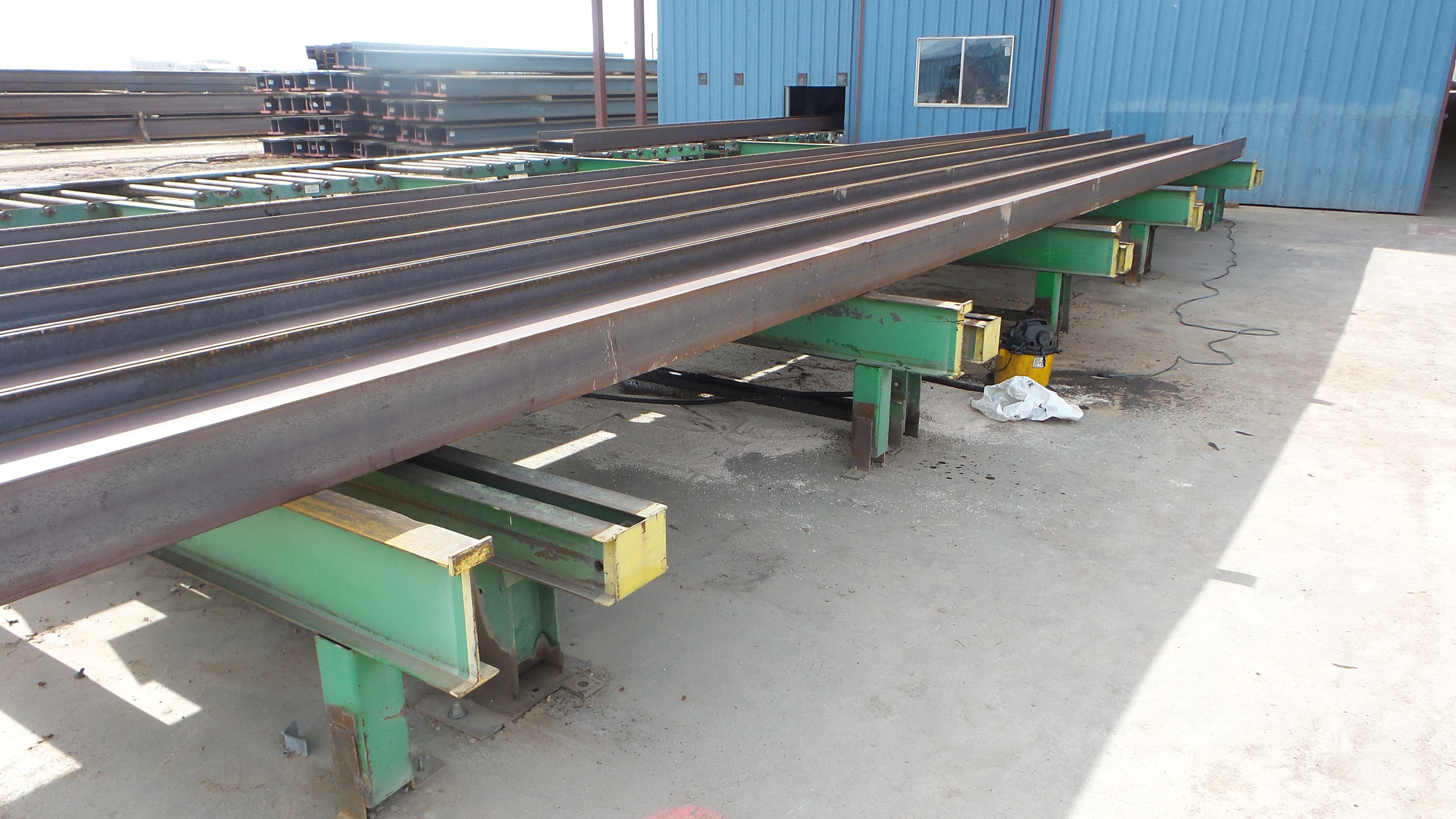 USED CNC Structural Steel Material Handling System
