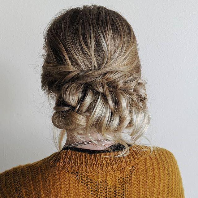 A slightly asymmetrical updo for a boho bride. 💛 . . . #bellinghamweddings #weddinghair #bridalhair #bridesmaidhair #pnwwedding #lairmontmanor #weddinghairstyle #bridalbeauty #hairideas #vancouverhairstylist #vancouverwedding #updo #updoideas #seattlewedding #vancouverweddings #bellinghamwedding #bride #hairideas #halfuphalfdown #bellinghamhairstylist #seattlehairstylist #sonohomishwedding