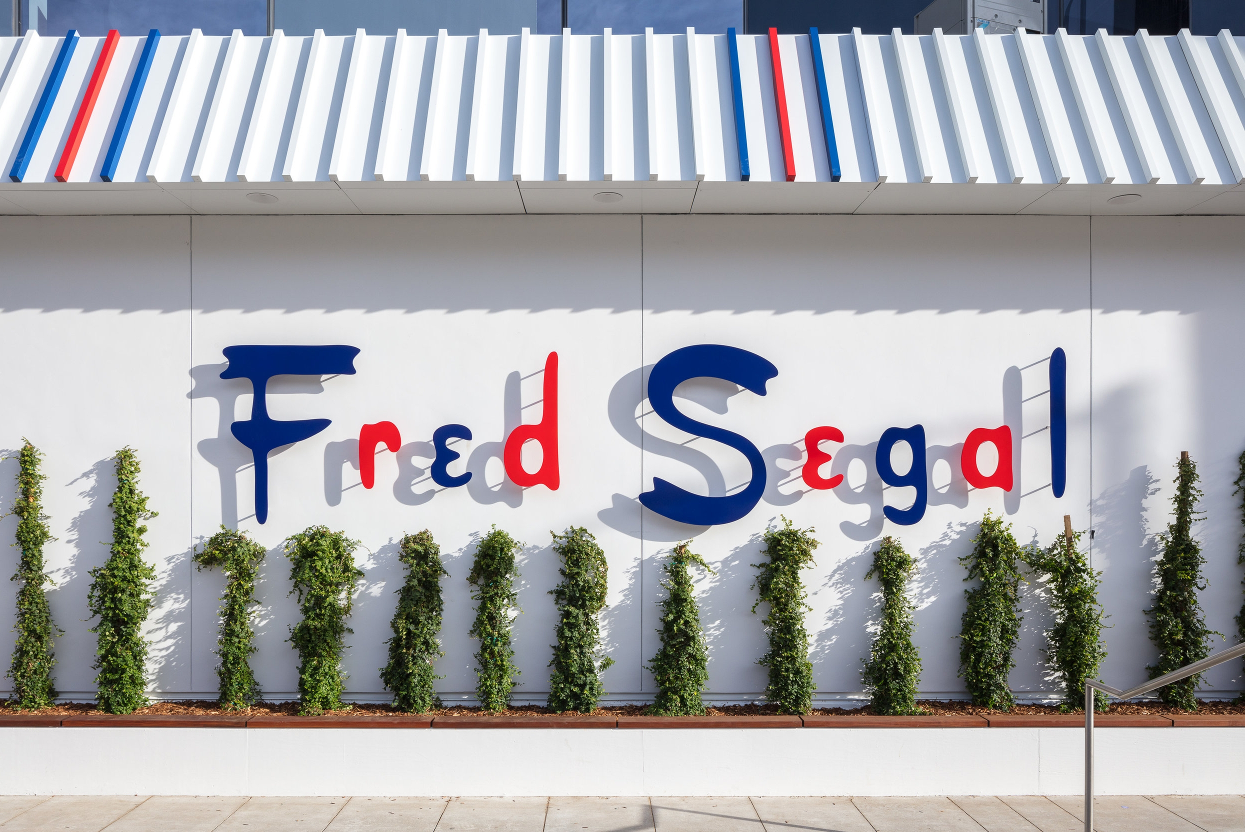 Exterior of Fred Segal Sunset