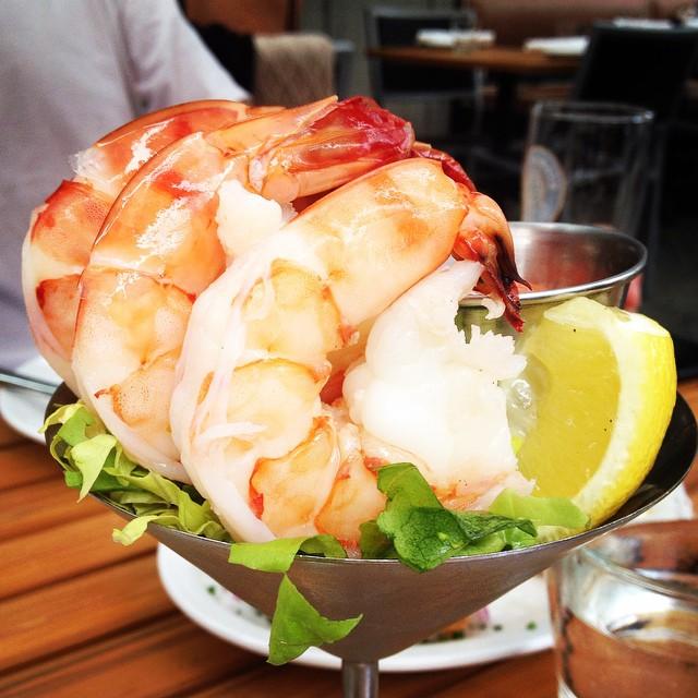Juicy king prawns were amazing #wildtale #vancouver #travel