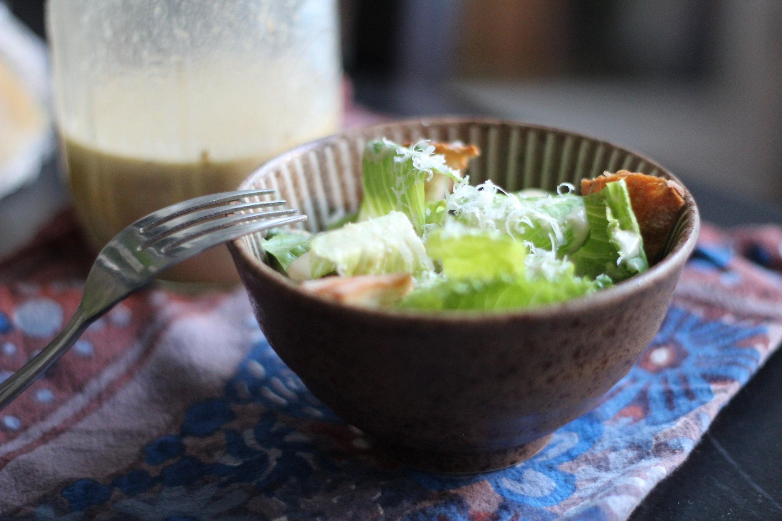 Caesar Salad - a family favorite!