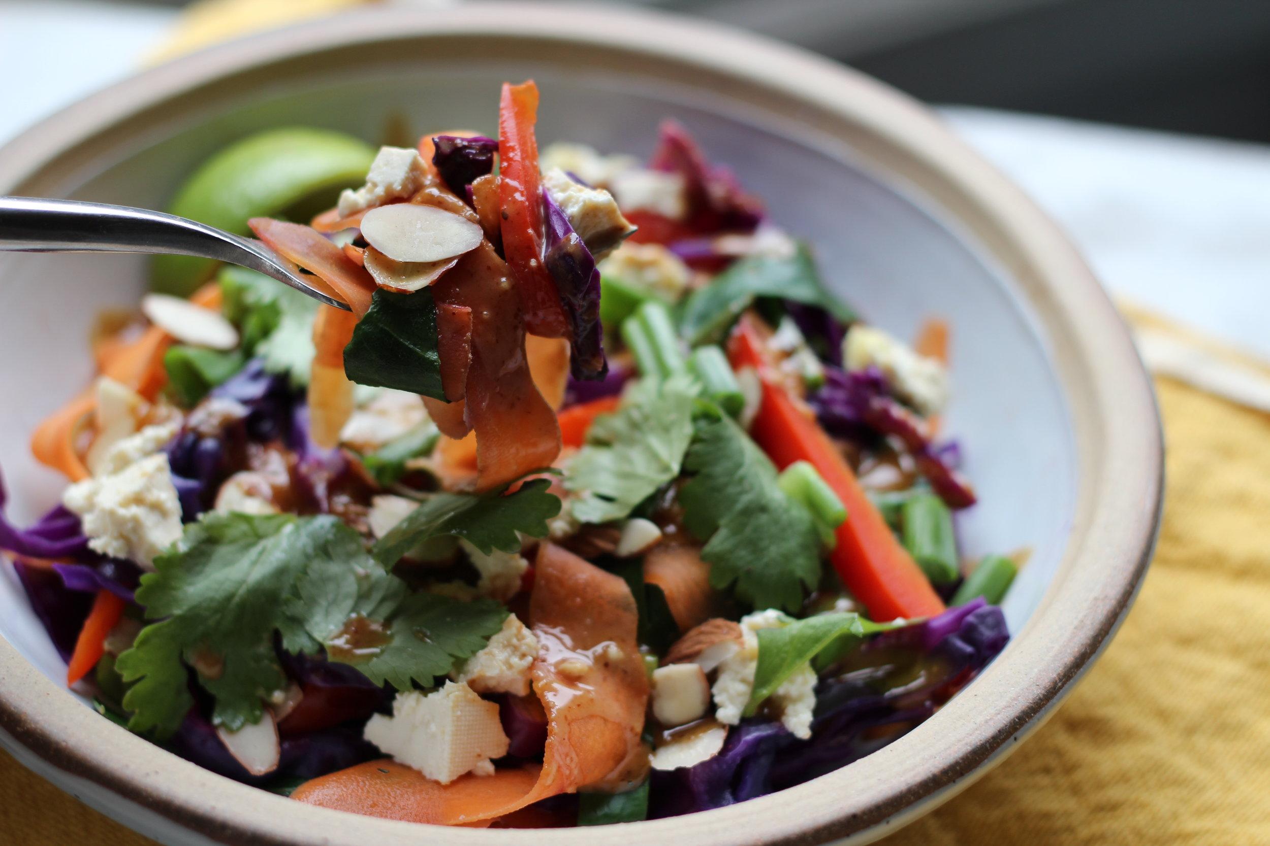 Reimagined, All Veggie Pad Thai