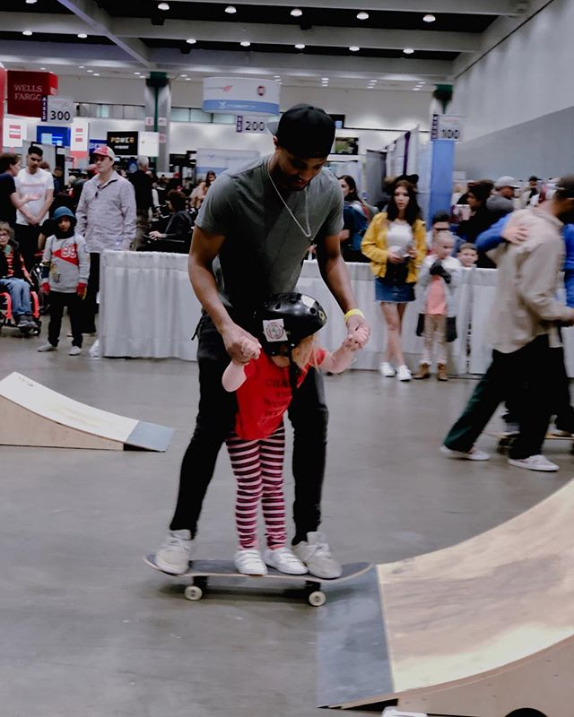 We met a lot of new faces today at the @abilities_expo ! Check out some of our favorite moments from today!  Thanks to everyone coming out to promote inclusion for people with disabilities through skateboarding! 🛹 ❤️ #skateincludecreate