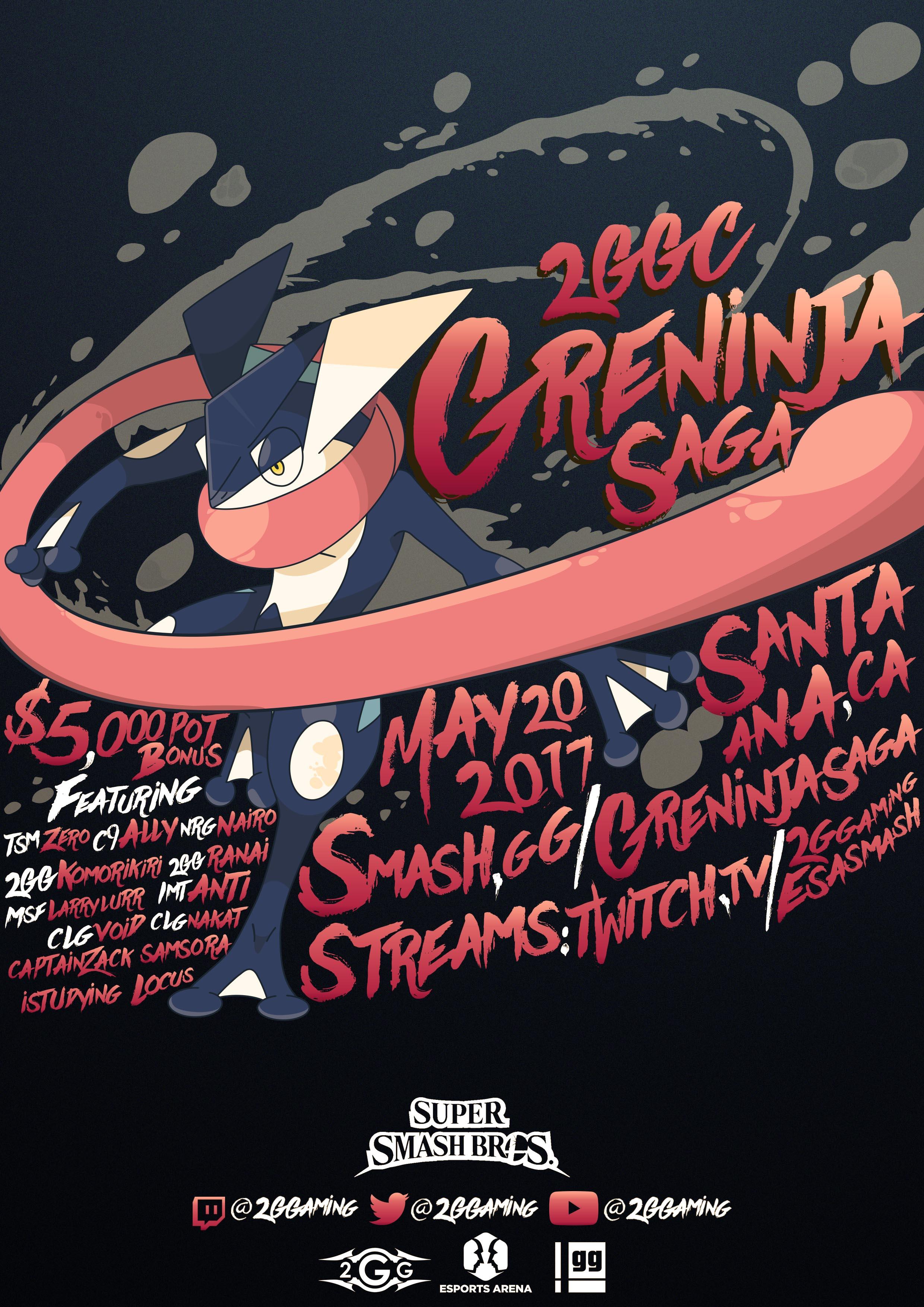 Greninja saga - poster one