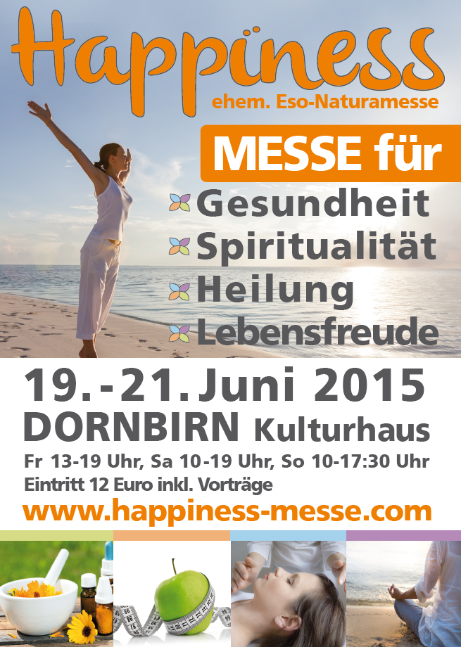 Weitere Informationen entnehmen Sie hier: www.happiness-messe.com