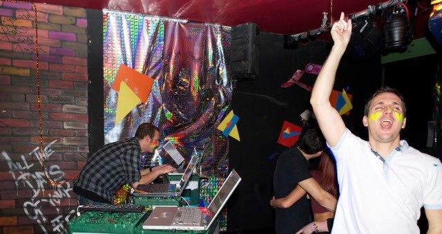 DJ'ing by Breaking Bear & Mass Evil