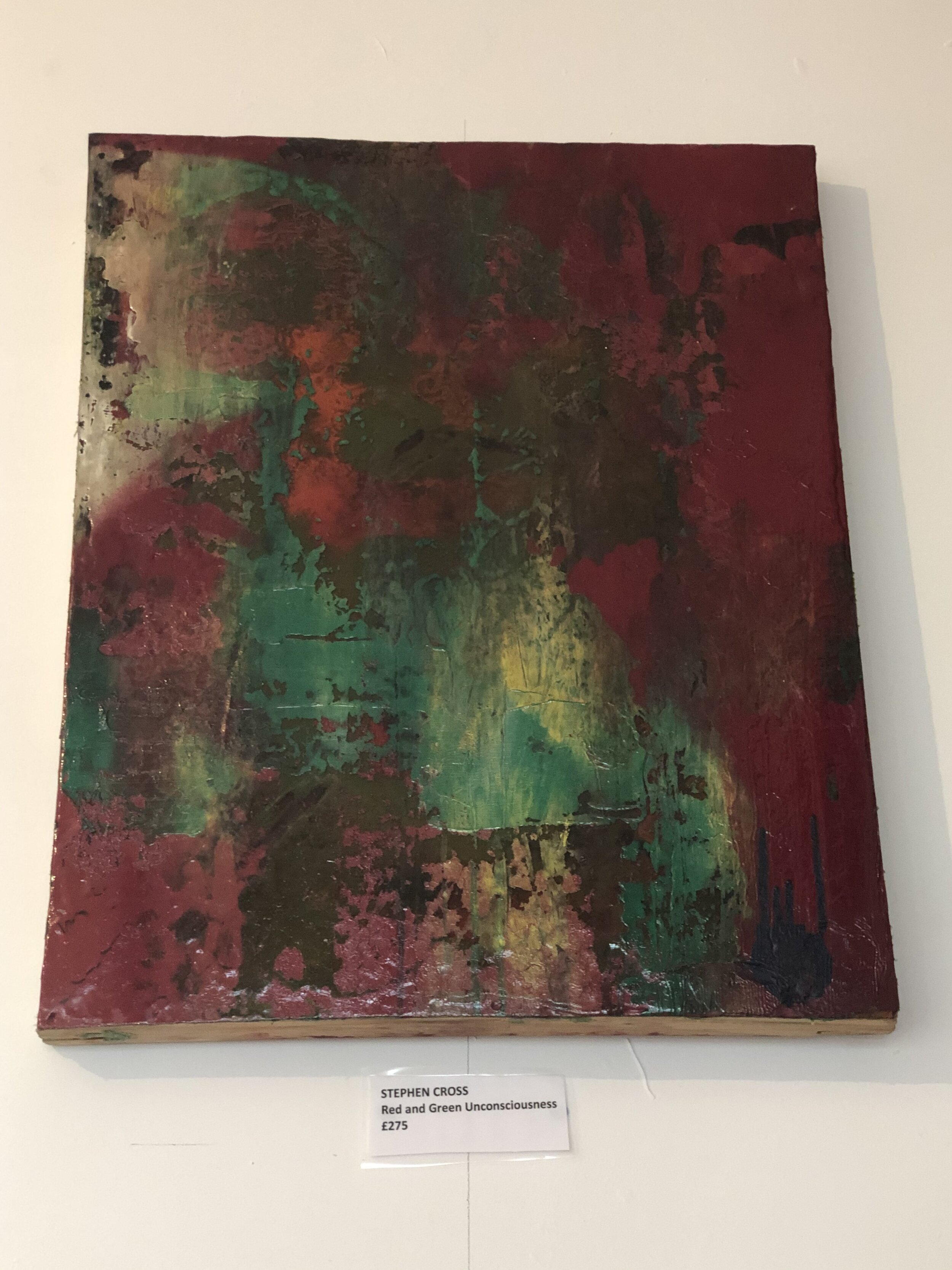 Red & Green Unconsciousness - £275
