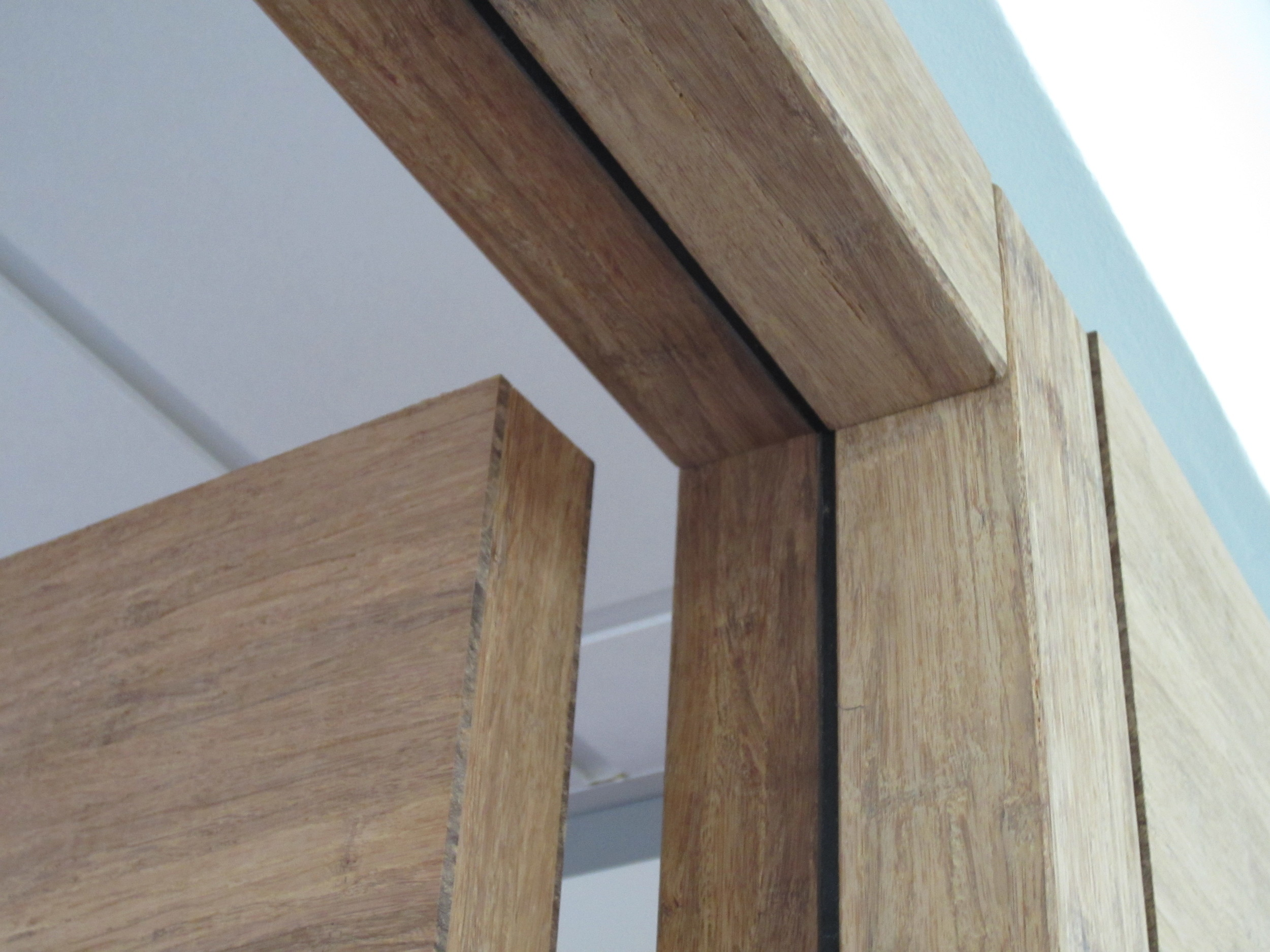 bamboe kozijn project