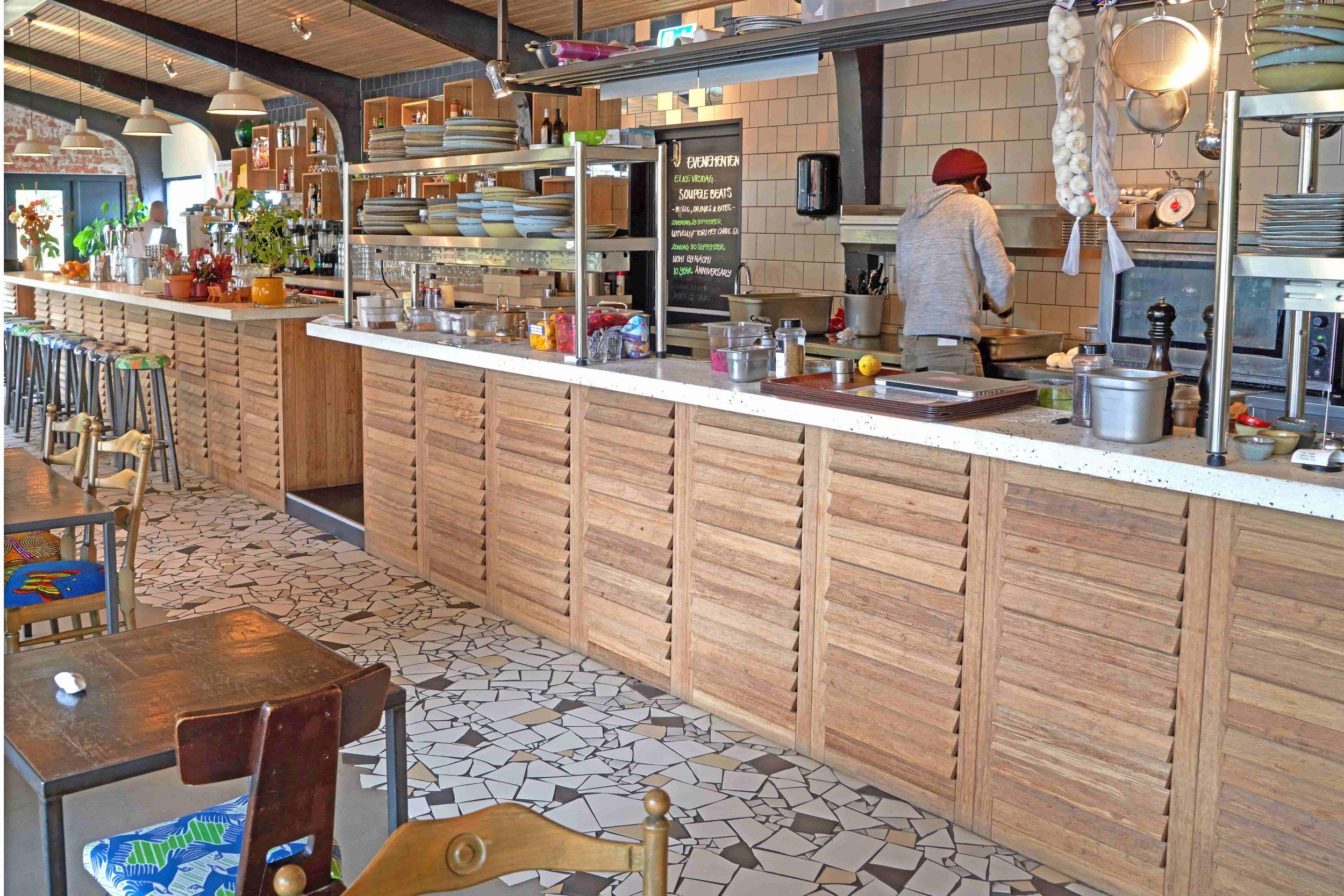 Op maat gemaakte bamboe bar