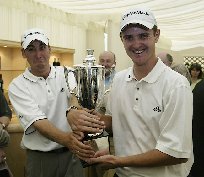 Poulter and Rose in 2002