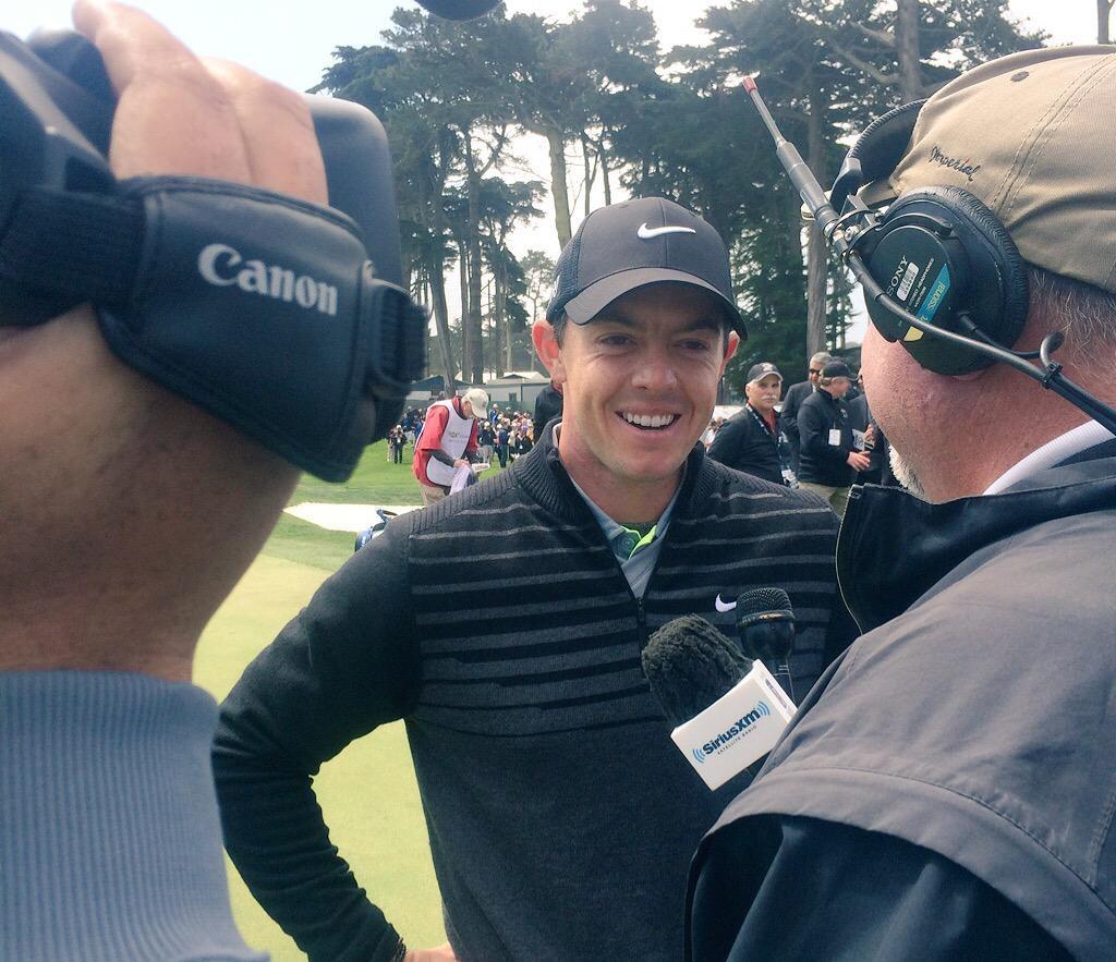 Rory McIlroy WGC Cadillac Matchplay interview Josh Hirst pga professional golf by josh