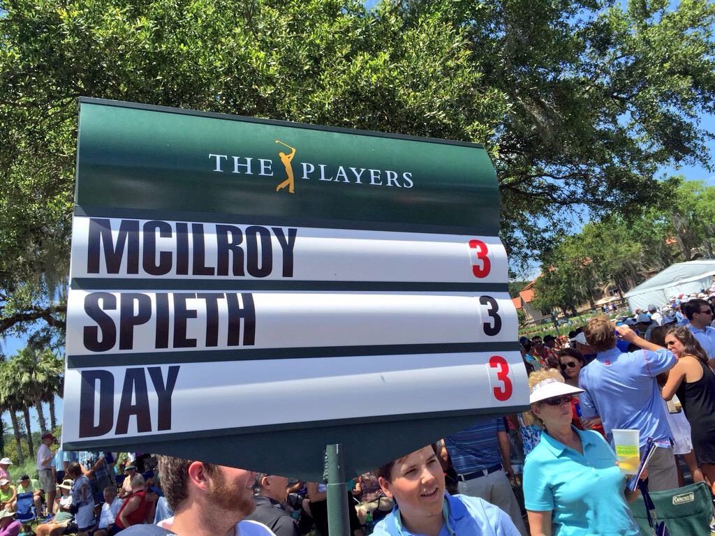 Jordan Spieth Jason Day Rory McIlroy The players