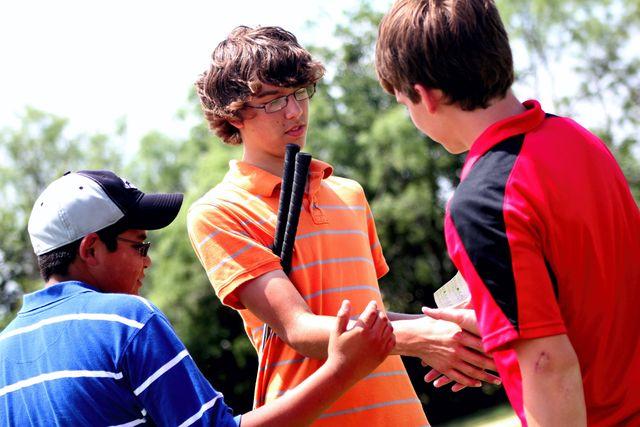Handshake josh hirst golf