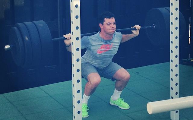 Rory Mcilroy weights josh hirst golf
