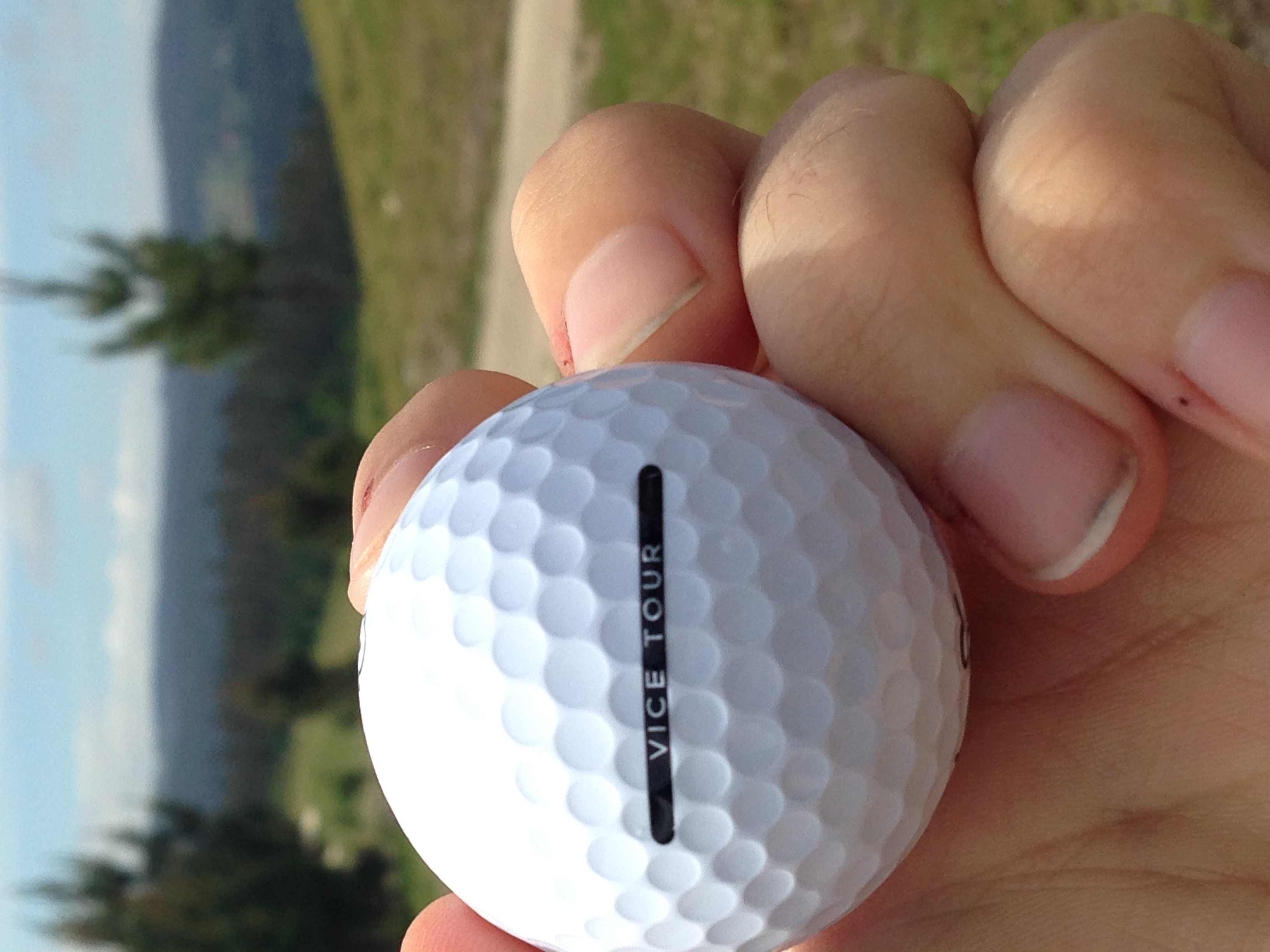 Vice Golf ball review golf by josh josh hirst pga professional