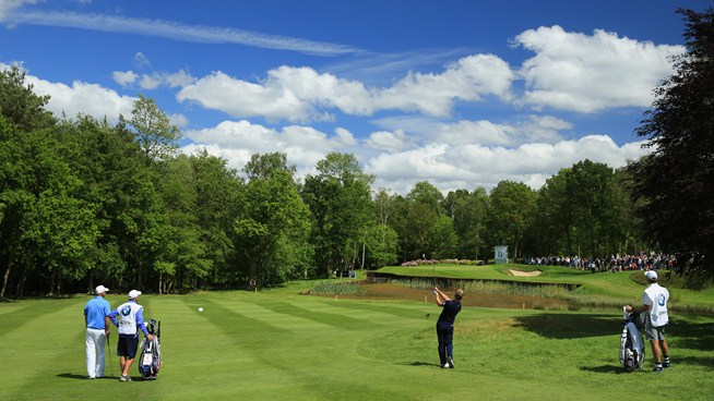 Luke Donald BMW PGA Championship Golf by josh hirst