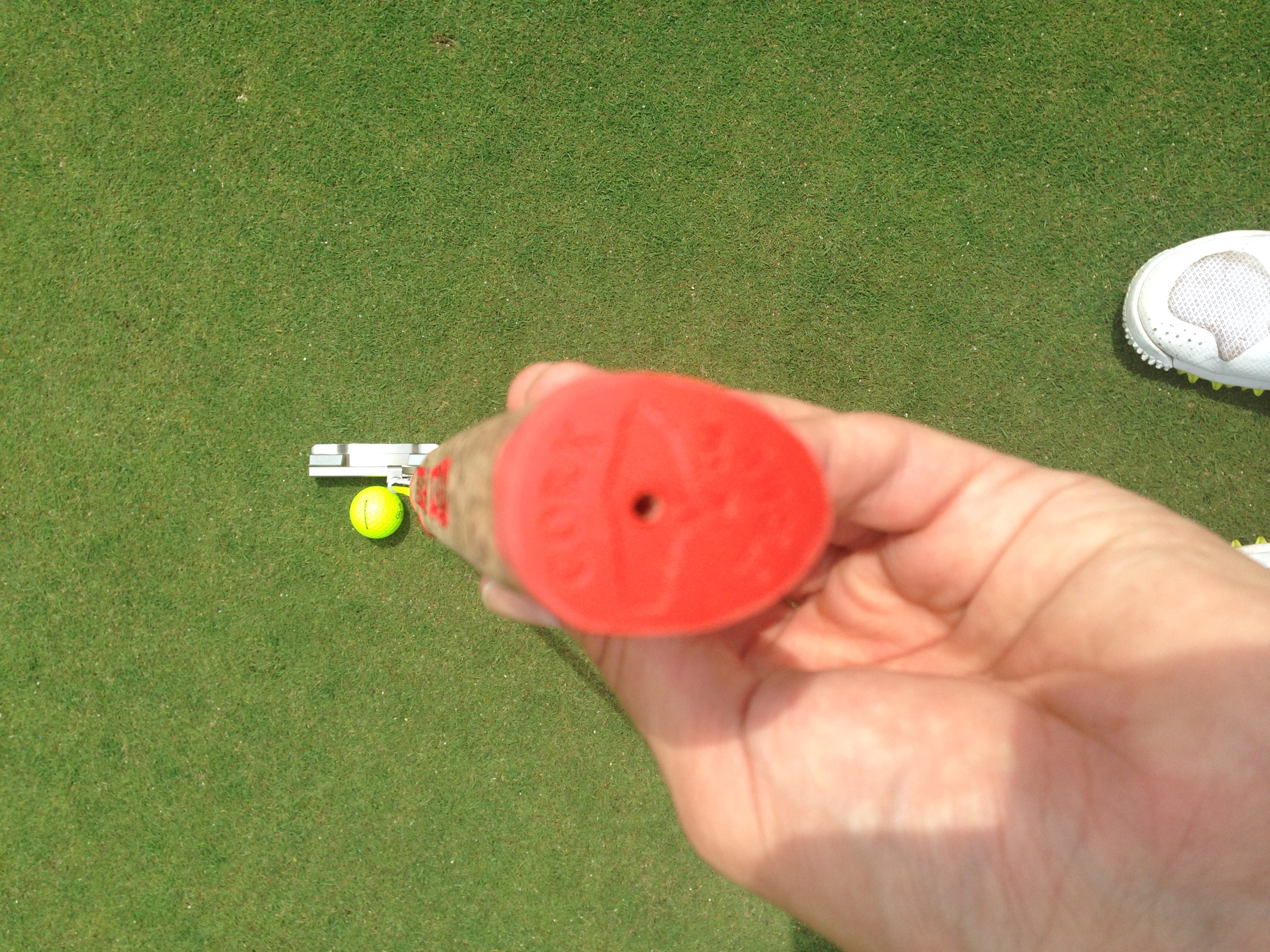 corktree putter grip review golf by josh hirst pga professional