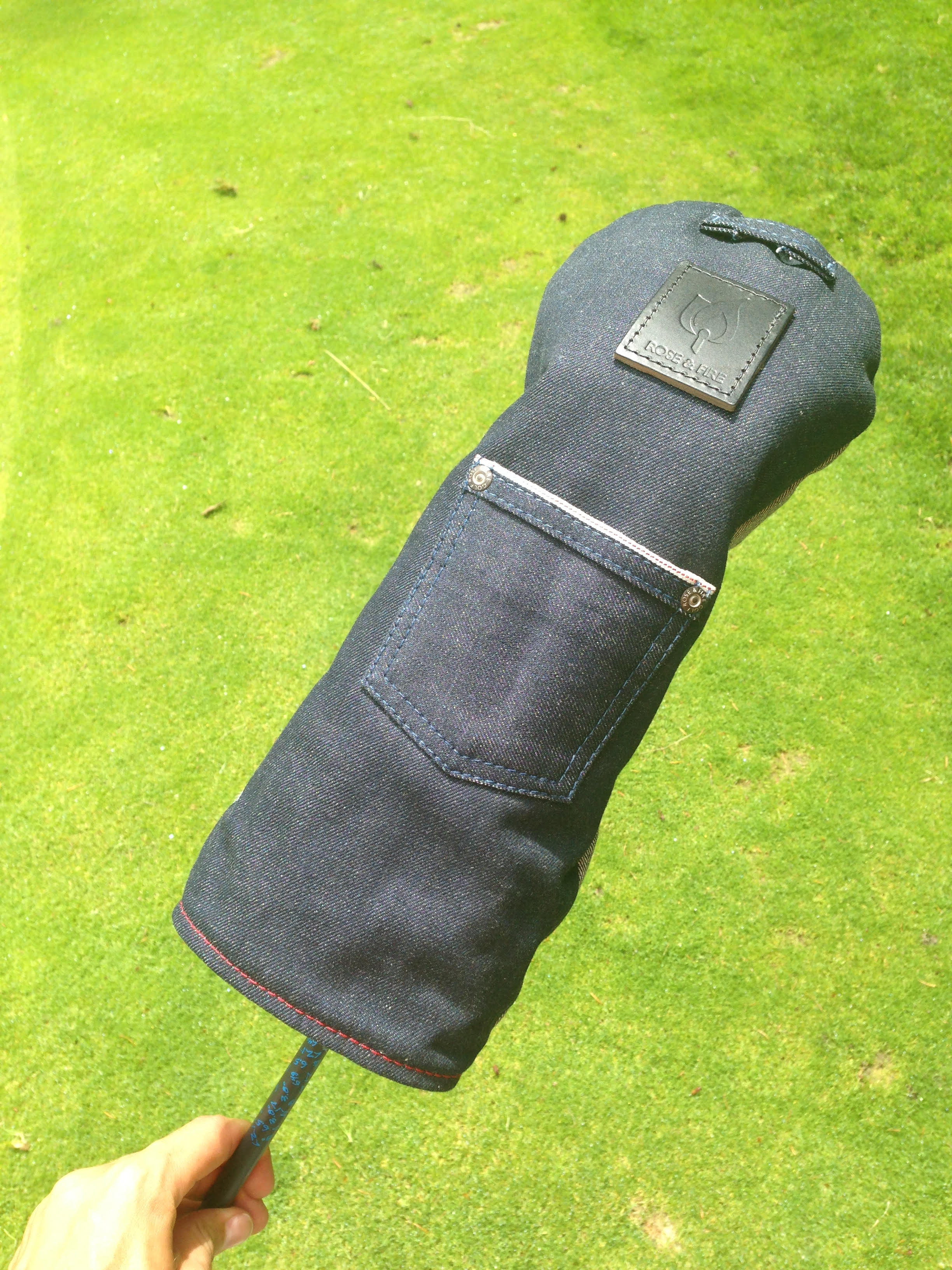 golf by josh hirst rose and fire denim cover