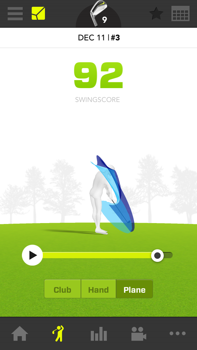 zepp golf analsyer review golf by josh