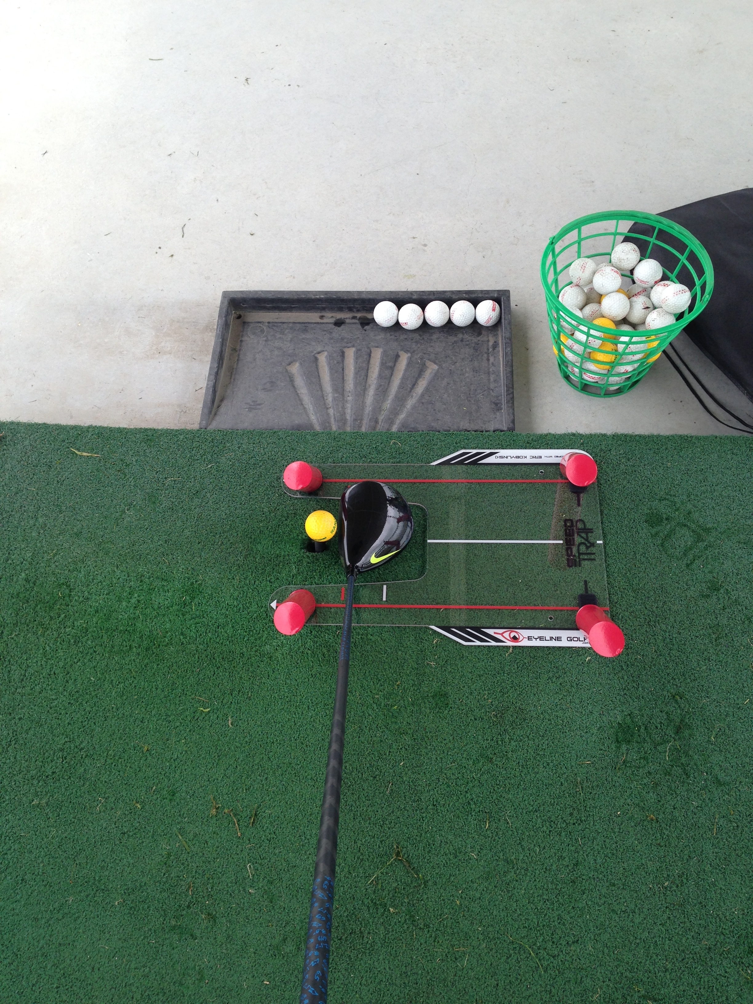 eyeline golf speed trap review golf by josh hirst