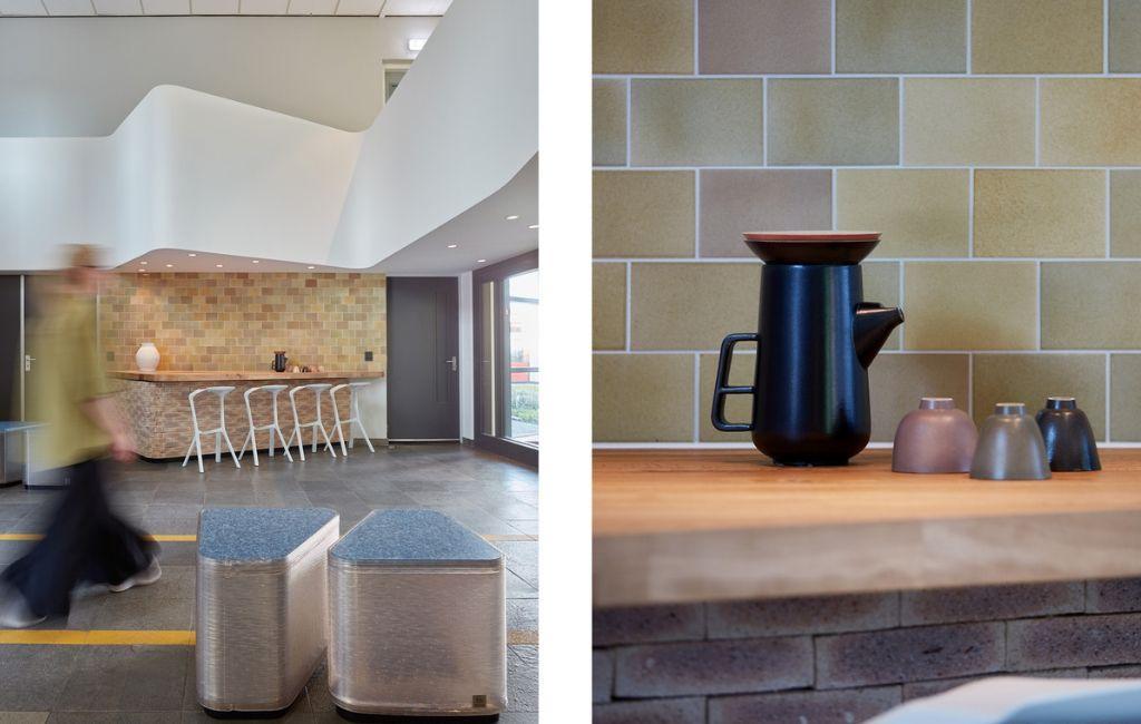 Photo Credit: Jeroen van der Wielen FORZ(R)Glaze tiles by Studio Mixtura
