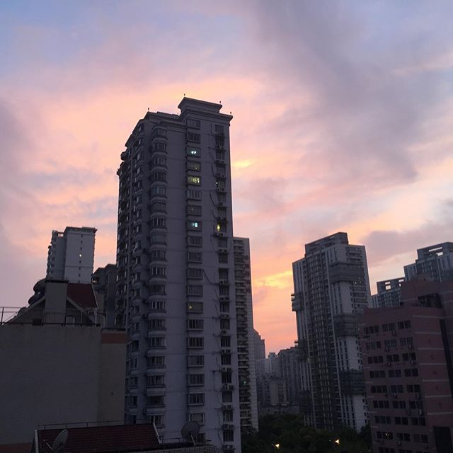 This is a beautiful sunset, and I'm so grateful to be able to take is such a fantastic view from my house in Shanghai.....come July, I'll be trading in this view for gorgeous sunsets in Bali!!!Can't wait for our upcoming retreat in Ubud,Bali - July 29th-Aug.3rd! For more details check out our website: www.wherethegreatgo.com #businessretreat #businessretreatbali #womensretreatbali #betteryourbusinessbybuildingyourbrand #femaledigitalnomads #femalebusinessowner #madeformore
