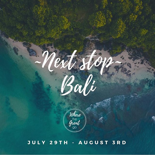 Rise & Shine. Today is gonna be a #WinningWednesday for US women! Why? Because we are going for the great...in #Bali ⠀⠀⠀⠀⠀⠀⠀⠀⠀ ⠀⠀⠀⠀⠀⠀⠀⠀⠀ That's right, our next Women's retreat will be in Beautiful Bali. Want to join us & a bunch of lady bosses? ⠀⠀⠀⠀⠀⠀⠀⠀⠀ ⠀⠀⠀⠀⠀⠀⠀⠀⠀ Check out the link for more info: http://wherethegreatgo.com/application⠀⠀⠀⠀⠀⠀⠀⠀⠀ ⠀⠀⠀⠀⠀⠀⠀⠀⠀ #BaliBliss #WhereTheGreatGo #WomensRetreat #LadyBoss #Womenpreneur