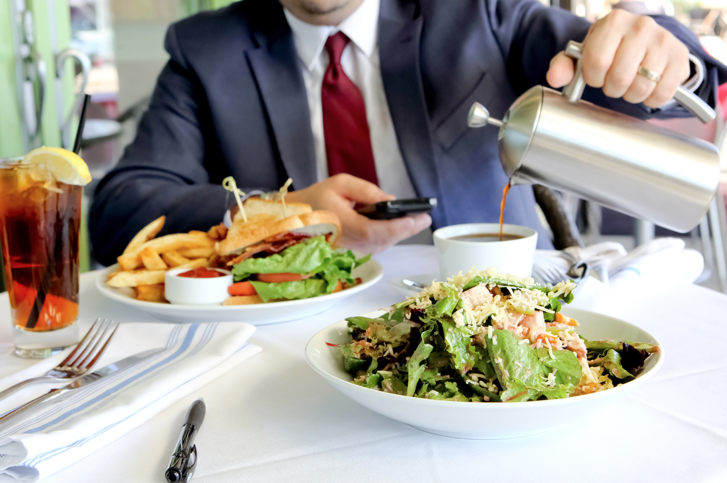 BEST SPOT FOR A BUSINESS LUNCH    Midtown Grille  Photo by FOOD-SEEN by Felicia Perry Photography, LLC