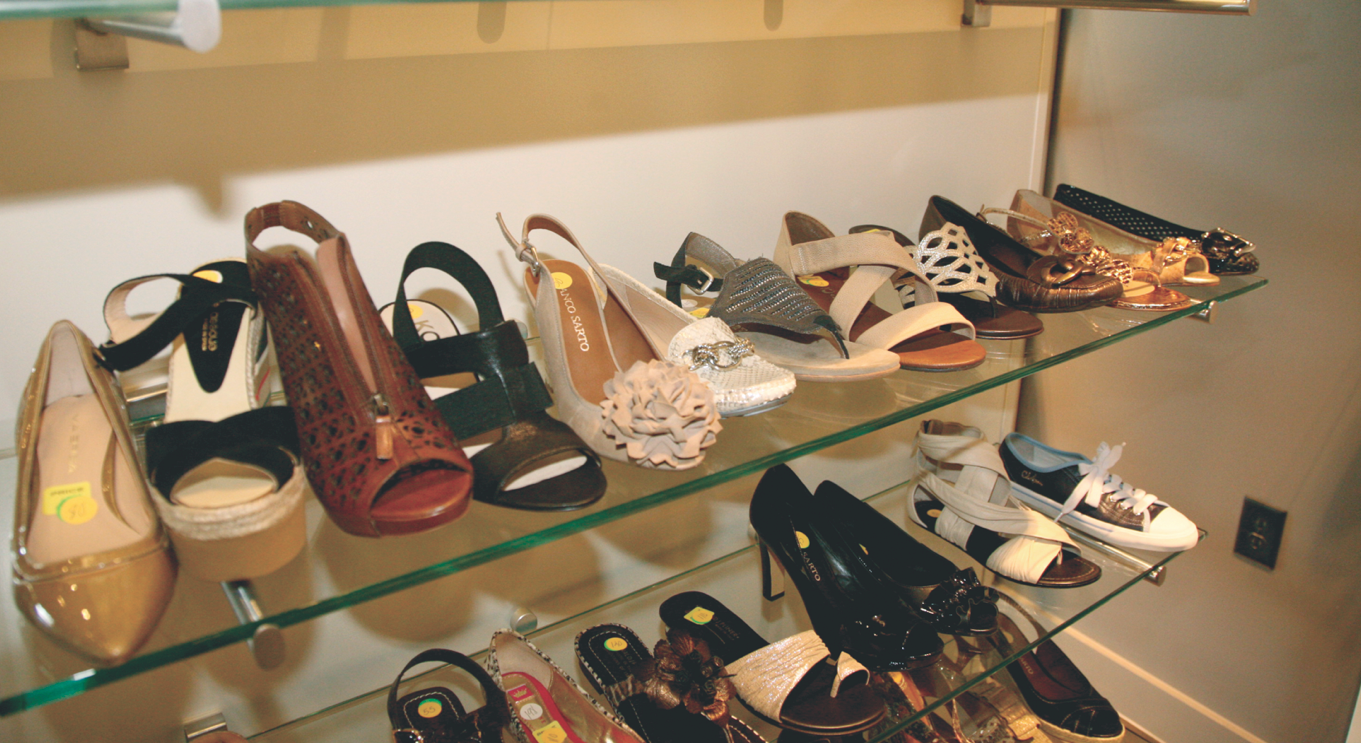 Main & Taylor  BEST PLACE TO BUY WOMEN'S SHOES  Photo courtesy of North Hills