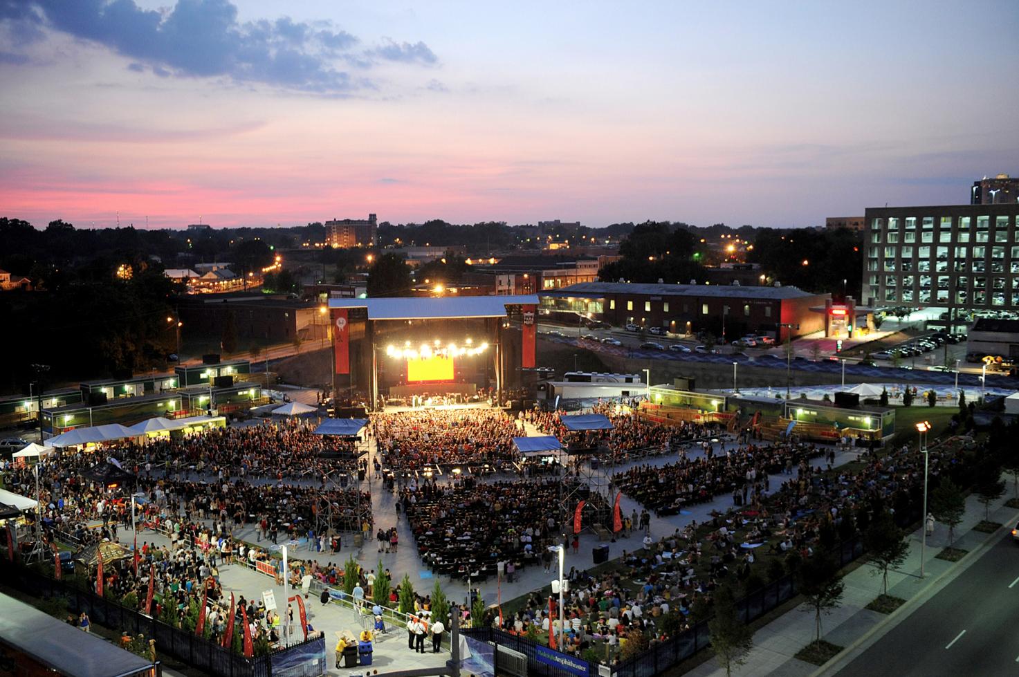 Red Hat Amphitheater  BEST LIVE MUSIC VENUE  Photo COURTESY OF Red Hat Amphitheater / Raleigh Convention Center