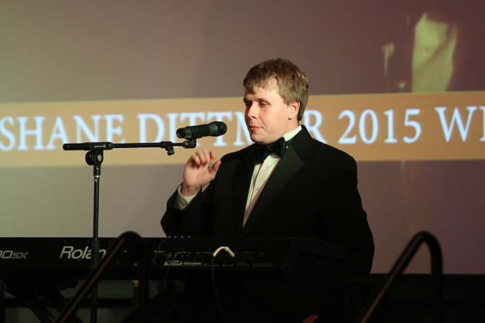 Shane dittmar at Blind Idol Semifinals