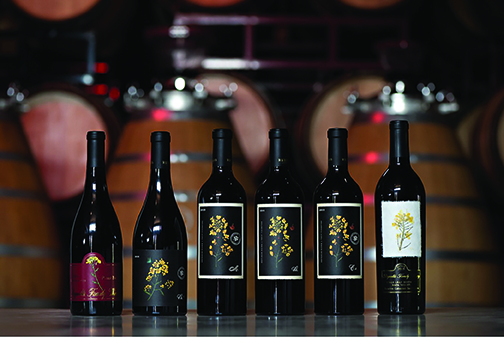 Vintages from reynolds family winery (Photo: Reynolds family winery)