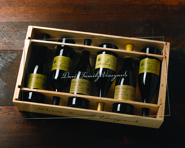 vintages from davis family vineyards (photo: davis family vineyards)
