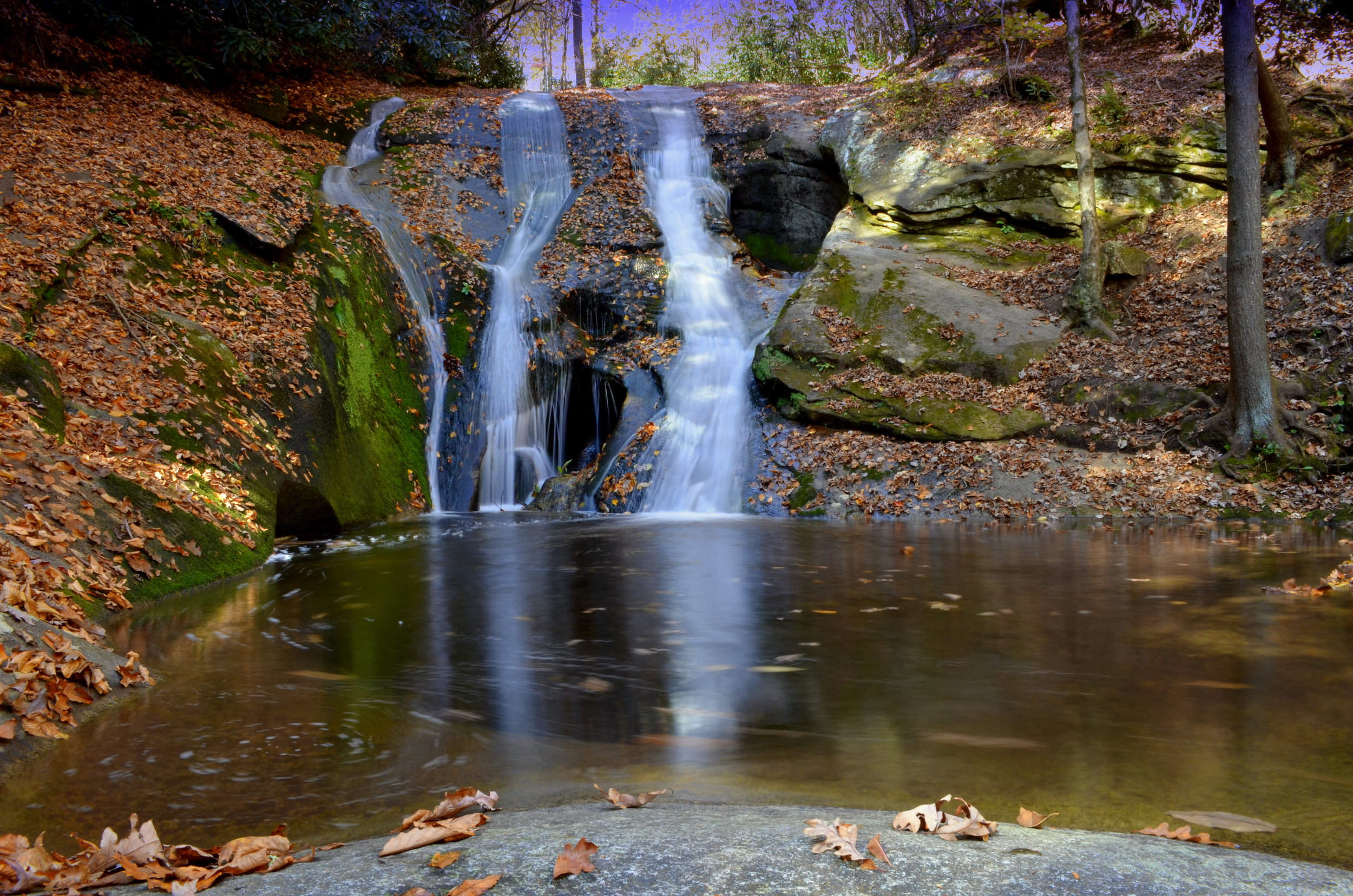STONE Mountain falls, roaring gap photo courtesy of visitnc.com