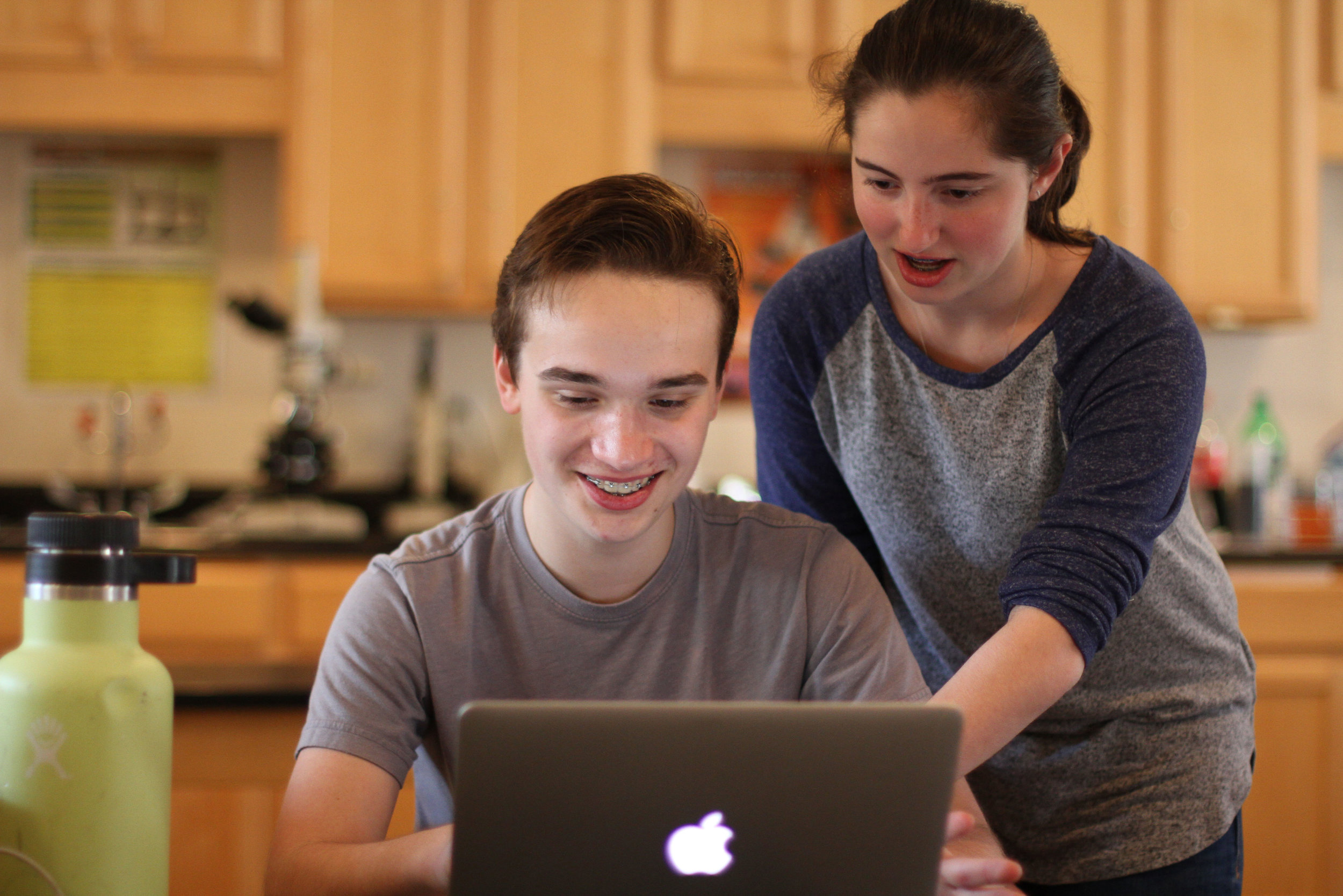 montessori schools focus heavily on student-driven, independent learning, which includes giving students access to a broad selection of digital options. Photo courtesy of The Montessori School of Raleigh