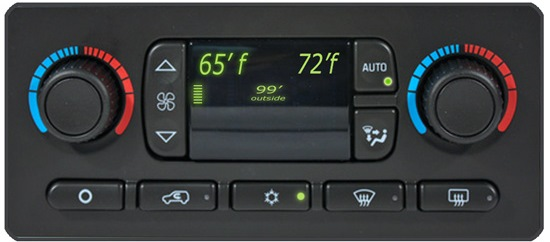dual climate control