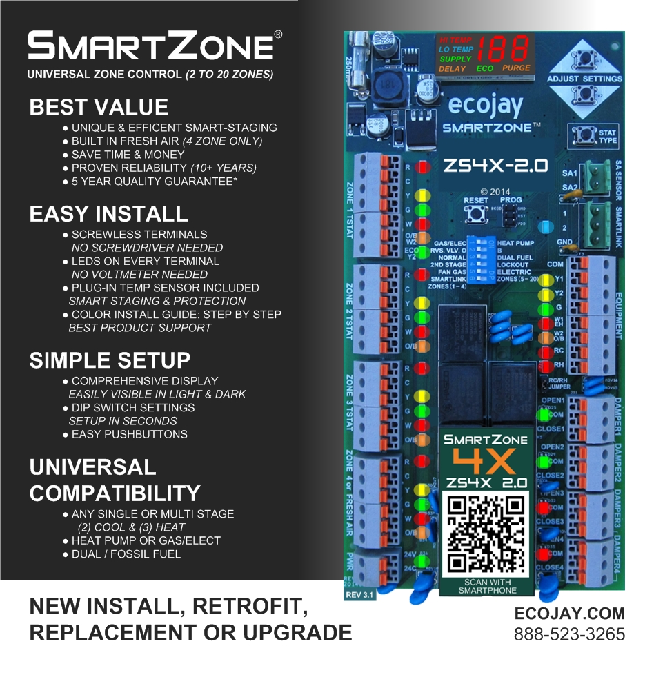 zone control - smartzone best features