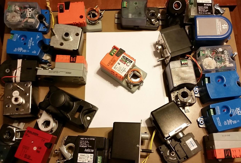 ecojay smartzone hvac zone damper actuator motor